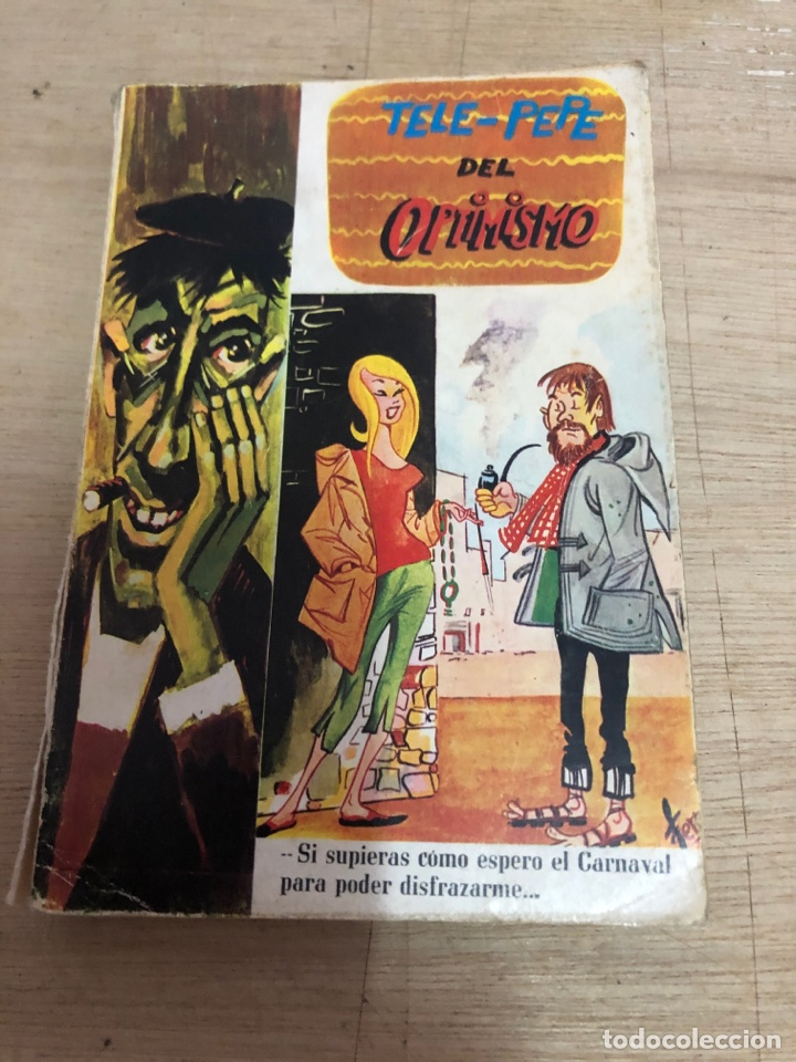 TELE PEPE DEL OPTIMISMO (Libros de Segunda Mano (posteriores a 1936) - Literatura - Narrativa - Otros)