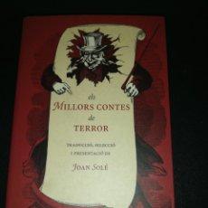 Libros de segunda mano: JOAN SOLE, ELS MILLORS CONTES DE TERROR . Lote 180904767