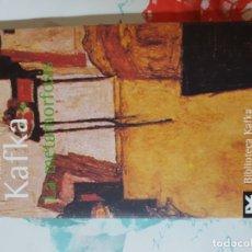 Libros de segunda mano: LA METAMORFOSIS POR FRANZ KAFKA. ALIANZA. Lote 180905828