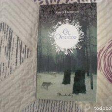 Libros de segunda mano: EL OCULTO;RONDA THOMPSON;MANDERLEY 2008. Lote 180931516