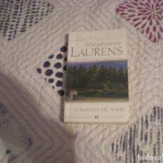 Libros de segunda mano: LAS RAZONES DEL AMOR;STEPHANIE LAURENS;HARLEQUÍN IBÉRICA 2006. Lote 181496913