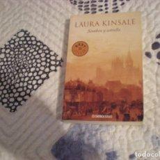 Libros de segunda mano: SOMBRA Y ESTRELLA;LAURA KINSALE;DEBOLSILLO 2009. Lote 181498335