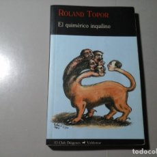 Libros de segunda mano: ROLAND TOPOR. EL QUIMÉRICO INQUILINO.1ª EDICIÓN ESPAÑOLA 2009.VALDEMAR.SURREALISMO.GRUPO PÁNICO.RARO. Lote 181530736