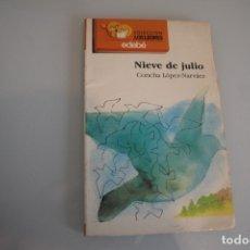 Libros de segunda mano: NIEVE DE JULIO. Lote 181594107