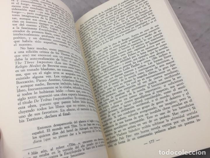 Libros de segunda mano: JORGE LUIS BORGES.- Jaime Alazraki. - Bioy Casares, Sábato y otros.- Edic. Taurus, 1976 - Foto 4 - 181959687