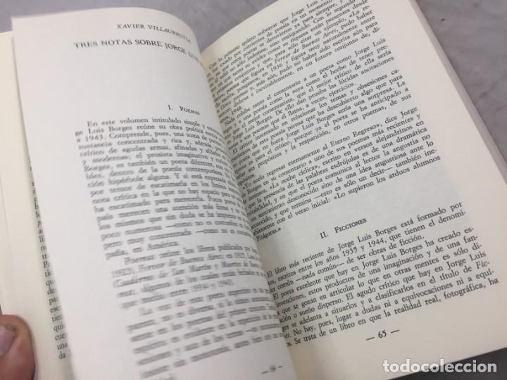 Libros de segunda mano: JORGE LUIS BORGES.- Jaime Alazraki. - Bioy Casares, Sábato y otros.- Edic. Taurus, 1976 - Foto 7 - 181959687