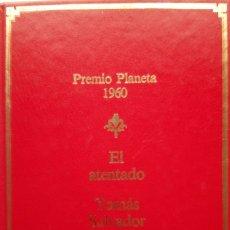 Libros de segunda mano: TOMÁS SALVADOR: EL ATENTADO. Lote 182070896