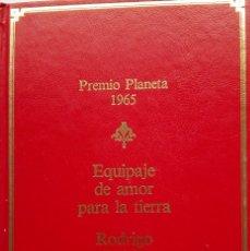 Libros de segunda mano: RODRIGO RUBIO: EQUIPAJE DE AMOR PARA LA TIERRA. Lote 182071123