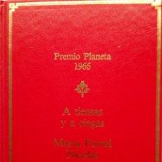 Libros de segunda mano: MARTA PORTAL NICOLÁS: A TIENTAS Y A CIEGAS. Lote 182071193