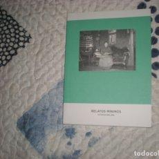 Libros de segunda mano: RELATOS MÍNIMOS.FOTOFICCIÓN 2016;VV.AA. AYUNTAMIENTO DE SANTANDER/CDIS 2016. Lote 182088182