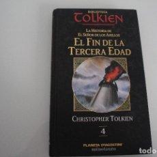 Libros de segunda mano: EL FIN DE LA TERCERA EDAD TOLKIEN. Lote 182099267