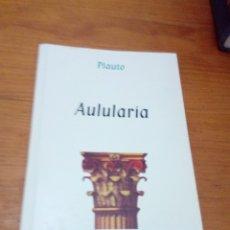 Libros de segunda mano: AULULARIA PLAUTO. EST6B6. Lote 182223475
