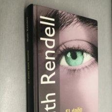Libros de segunda mano: EL DAÑO ESTÁ HECHO / RUTH RENDELL / RBA 2001. Lote 182403736