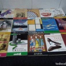 Libros de segunda mano: 25-LOTE DE 15 LIBROS BIBLIOTECA DEL SOL. Lote 182431993