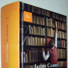 Libros de segunda mano: JO CONFESSO - JAUME CABRE - EN CATALAN. Lote 182483511
