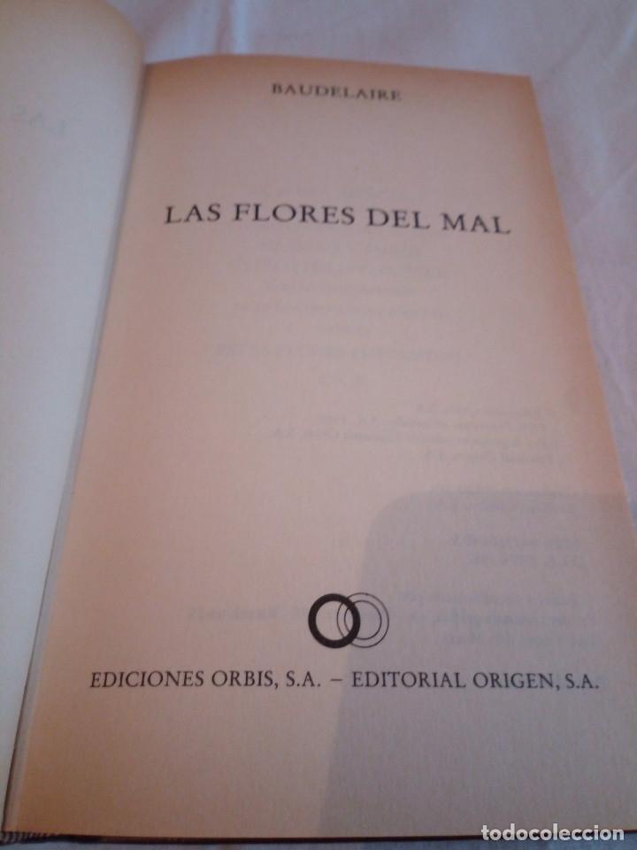 Libros de segunda mano: 127-LAS FLORES DEL MAL, Charles Baudelaire, 1982 - Foto 3 - 182644995