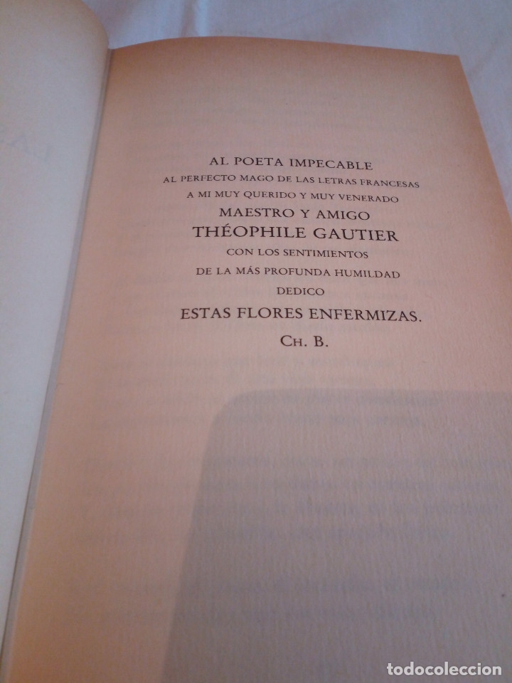 Libros de segunda mano: 127-LAS FLORES DEL MAL, Charles Baudelaire, 1982 - Foto 5 - 182644995