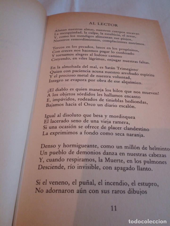 Libros de segunda mano: 127-LAS FLORES DEL MAL, Charles Baudelaire, 1982 - Foto 6 - 182644995