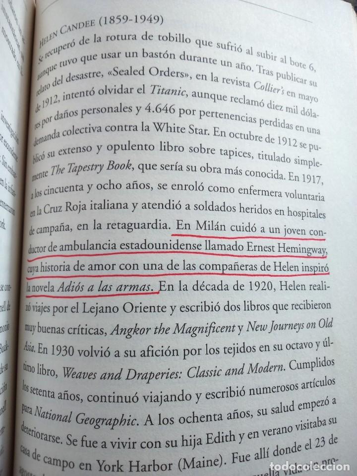Libros de segunda mano: TITANIC - EL FINAL DE UNA VIDAS DORADAS -- HUGH BREWSTER -- LUMEN 2012 -- - Foto 4 - 210777117