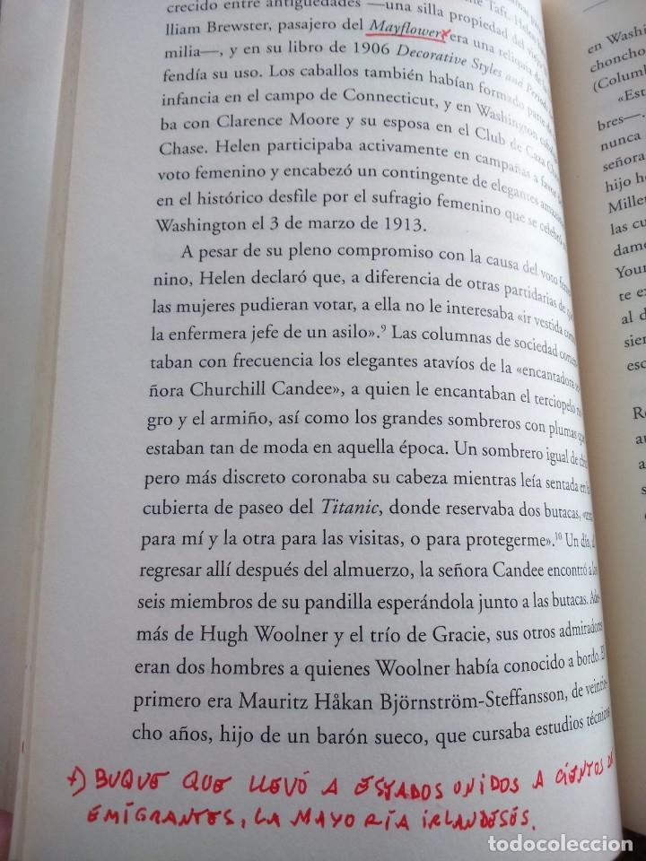 Libros de segunda mano: TITANIC - EL FINAL DE UNA VIDAS DORADAS -- HUGH BREWSTER -- LUMEN 2012 -- - Foto 5 - 210777117