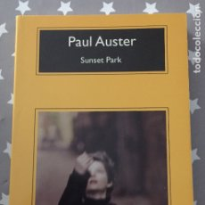 Libros de segunda mano: SUNSET PARK, PAUL AUSTER. Lote 182729923