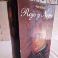 Libros de segunda mano: 70-ROJO Y NEGRO , STENDHAL, 1997. Lote 182731908