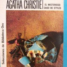 Libri di seconda mano: EL MISTERIOSO CASO DE STYLES. AGATHA CHRISTIE. EDITORIAL MOLINO. Lote 182857812