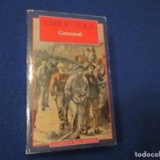 Libros de segunda mano: GERMINAL EMILIO ZOLA OLIMPIA EDICIONES 1995. Lote 182868163