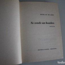Libros de segunda mano: SE VENDE UN HOMBRE ANGEL Mª DE LERA. Lote 182872765