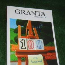 Libros de segunda mano: GRANTA EN ESPAÑOL 9 PRIMAVERA 2009 - NUM.100 DUOMO EDICIONES. Lote 182984298