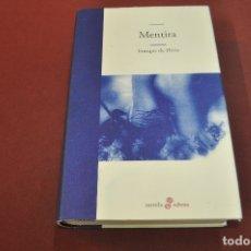 Libros de segunda mano: MENTIRA - ENRIQUE DE HÉRIZ - NO1. Lote 183177162