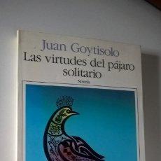 Libros de segunda mano: LAS VIRTUDES DEL PAJARO SOLITARIO. JUAN GOYTOSOLO. SEIX BARRAL/BIBLIOTECA BREVE 1990.. Lote 183255943