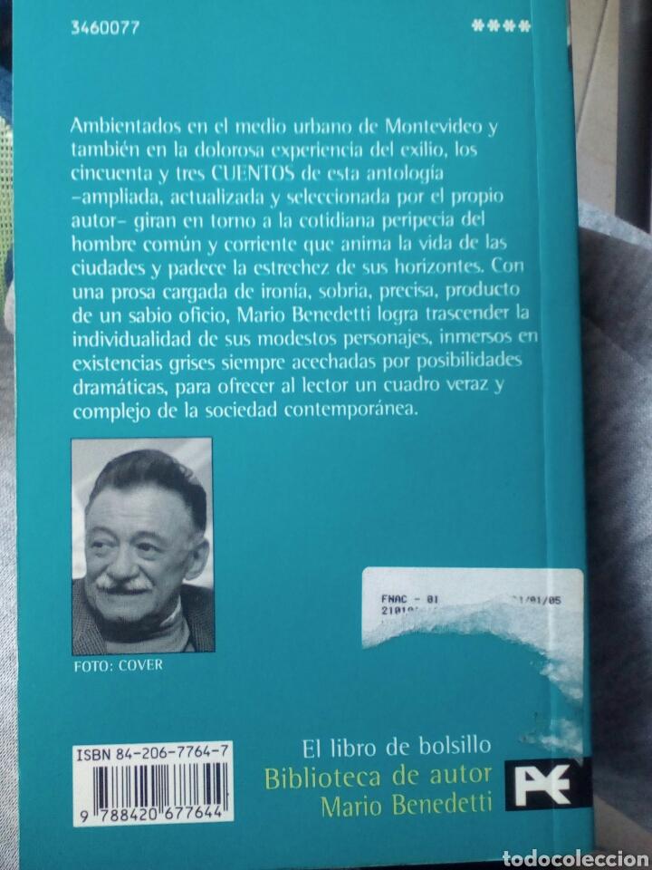 Libros de segunda mano: Cuentos. Benedetti. Edición ampliada y revisada. - Foto 2 - 183483555