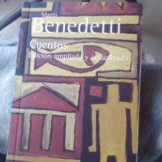 Libros de segunda mano: CUENTOS. BENEDETTI. EDICIÓN AMPLIADA Y REVISADA.. Lote 183483555
