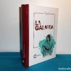 Libros de segunda mano: MIGUEL DE CERVANTES, LA GALATEA - CLUB INTERNACIONAL DEL LIBRO . 2016, 1ª. Lote 183500181