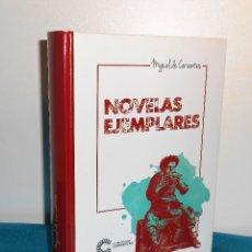 Libros de segunda mano: CERVANTES: NOVELAS EJEMPLARES - CLUB INTERNACIONAL DEL LIBRO, 2016, 1ª. Lote 183502755