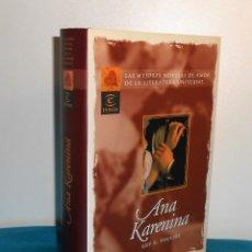 Libros de segunda mano: TOLSTOI: ANA KARENINA - ESPASA, 2000, 1ª - COMO NUEVO. Lote 183503048
