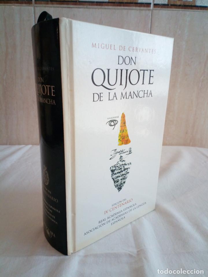 236-DON QUIJOTE DE LA MANCHA, MIGUEL DE CERVANTES, EDICION DEL IV CENTENARIO, 2004 (Libros de Segunda Mano (posteriores a 1936) - Literatura - Narrativa - Otros)