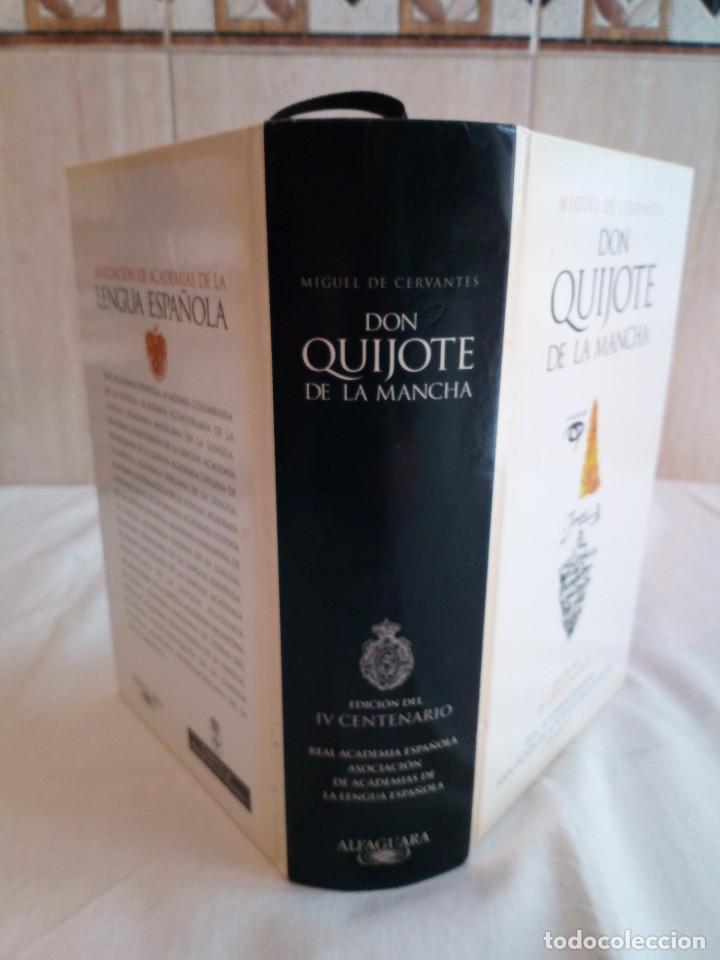 Libros de segunda mano: 236-DON QUIJOTE DE LA MANCHA, Miguel de Cervantes, edicion del IV centenario, 2004 - Foto 2 - 183625277