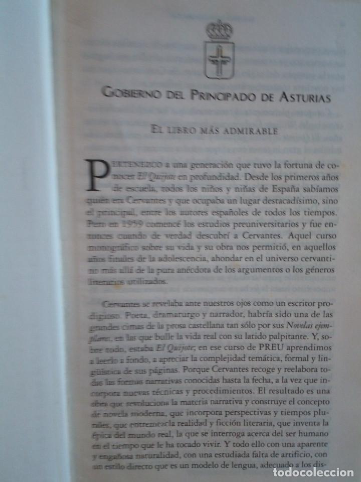 Libros de segunda mano: 236-DON QUIJOTE DE LA MANCHA, Miguel de Cervantes, edicion del IV centenario, 2004 - Foto 4 - 183625277