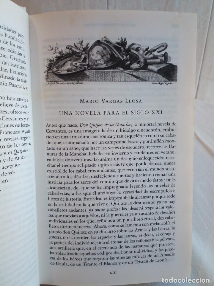 Libros de segunda mano: 236-DON QUIJOTE DE LA MANCHA, Miguel de Cervantes, edicion del IV centenario, 2004 - Foto 5 - 183625277