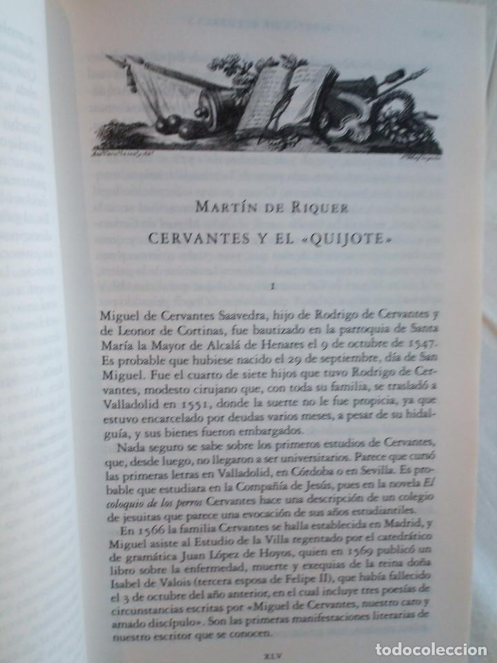 Libros de segunda mano: 236-DON QUIJOTE DE LA MANCHA, Miguel de Cervantes, edicion del IV centenario, 2004 - Foto 6 - 183625277