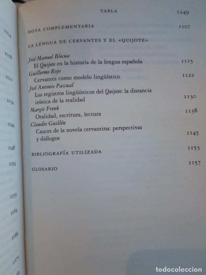 Libros de segunda mano: 236-DON QUIJOTE DE LA MANCHA, Miguel de Cervantes, edicion del IV centenario, 2004 - Foto 13 - 183625277