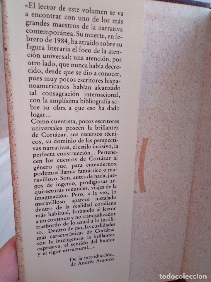 Libros de segunda mano: 251-HISTORIAS DE CRONOPIOS Y FAMAS, RELATOS , Julio Cortazar, 1984 - Foto 3 - 183663953
