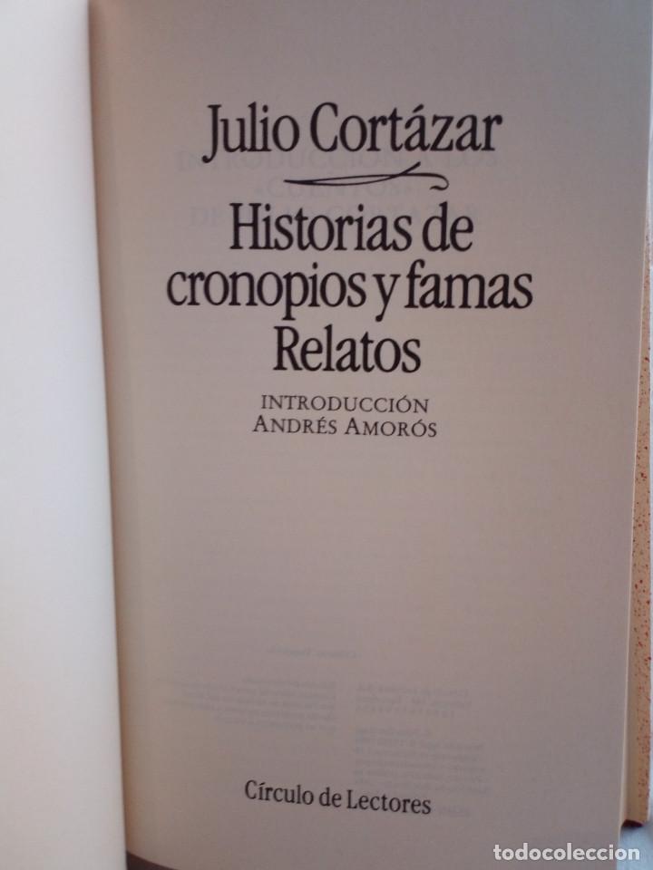 Libros de segunda mano: 251-HISTORIAS DE CRONOPIOS Y FAMAS, RELATOS , Julio Cortazar, 1984 - Foto 5 - 183663953