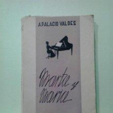 Libros de segunda mano: LMV - MARTA Y MARIA. A. PALACIO VALDES. Lote 183708178