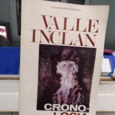 Libros de segunda mano: VALLE INCLÁN CRONOLÓGIA Y DOCUMENTOS. M. DE CULTURA 1978. Lote 183744947