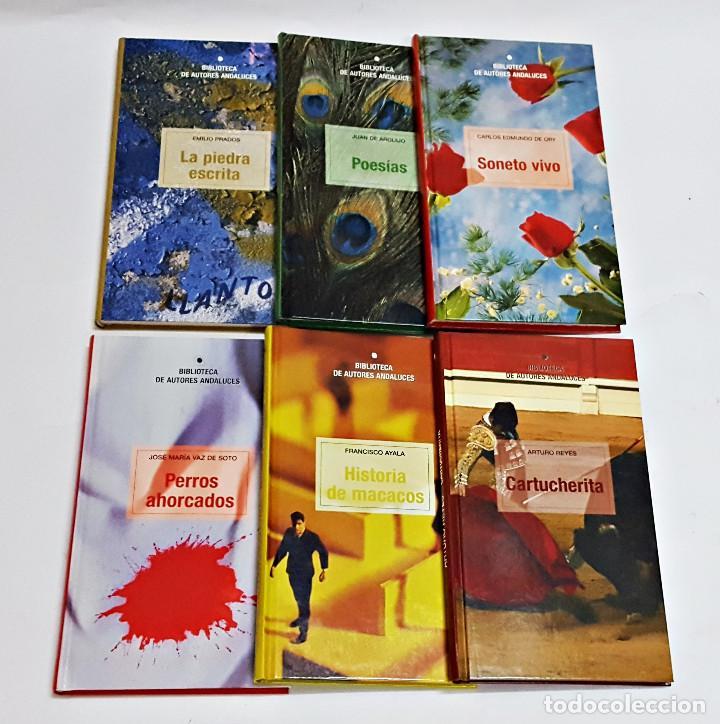 LOTE DE 6 LIBROS BIBLIOTECA AUTORES ANDALUCES. (Libros de Segunda Mano (posteriores a 1936) - Literatura - Narrativa - Otros)