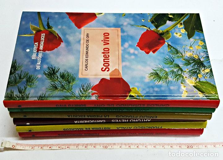 Libros de segunda mano: LOTE DE 6 LIBROS BIBLIOTECA AUTORES ANDALUCES. - Foto 3 - 183844192