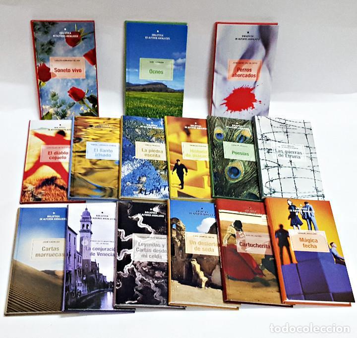 LOTE DE 15 LIBROS BIBLIOTECA AUTORES ANDALUCES. (Libros de Segunda Mano (posteriores a 1936) - Literatura - Narrativa - Otros)